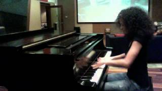 """""""Kandace Springs MURDERS PIANO at The Underdogs Studio"""""""