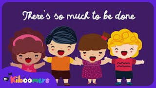 Goodbye Song for Kids | Goodbye Song for Preschool  | So Long Now | The Kiboomers