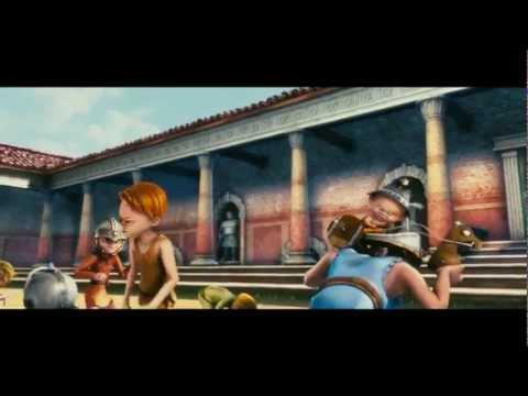 Copertina quaderno di inglese con i gladiatori di roma u mondo bimbo