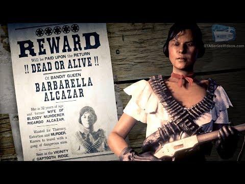Red Dead Online Legendary Bounty #1 - Barbarella Alcazar (5-Star Difficulty - Solo)