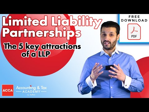 What Is A Limited Liability Partnership / LLP?