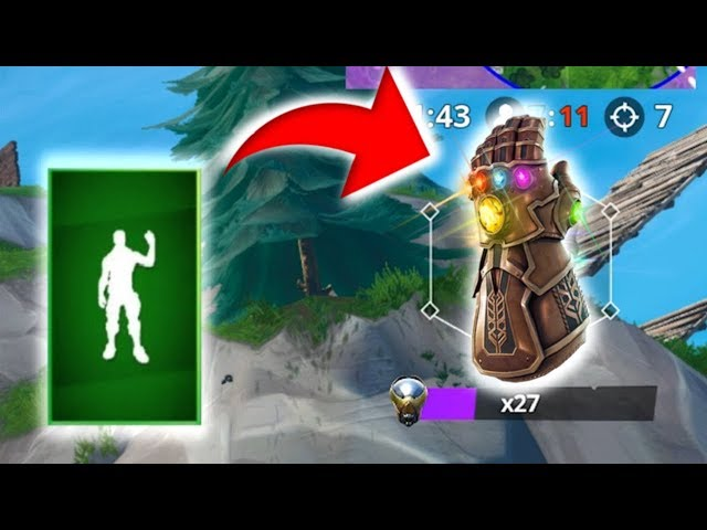 So I tried to collect the 6 Infinity Stones and Use emote SNAP and This is what Happened..