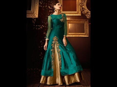 Modern New Arrivals Fashionable Women Party Wear Designer Anarkali Lehenga Suits Collection