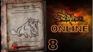 Let's Play Soul Sacrifice PS VITA - Part 8 - Avalon Pacts - Inception - Orc / ONLINE TUTORIAL
