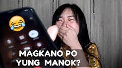 PRANK CALLING MY FRIENDS USING RUFFA MAE'S VOICE HAHAHA