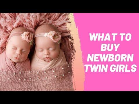 What to Buy Newborn Twin Girls