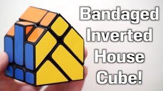 Bandaged Inverted House Cube Unboxing + Solve! | Nathan Wilson