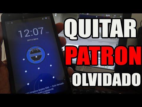 Como QUITAR PATRON DE DESBLOQUEO OLVIDADO en Celular o Tablet Android