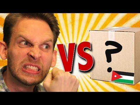 Mystery Package from Amman & Jeeta in Jordan Unboxing