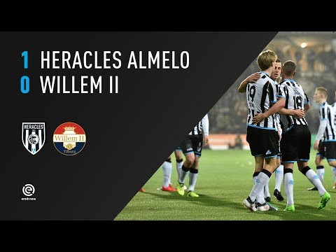 Heracles Almelo - Willem II 1-0 | 10-02-2018 | Samenvatting