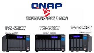 QNAP 2019 Thunderbolt 3 NAS Explained - TVS-472XT, TVS-672XT and TVS-872XT