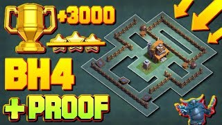 Builder hall 4 base / BH4 Builder Base + Defense Replay / Anti 2 Star Base Layout | Clash of Clans