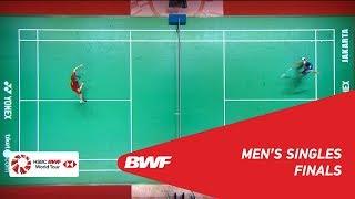 F | MS | CHOU Tien Chen (TPE) [4] vs. A...