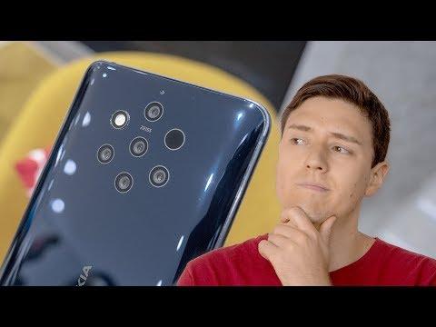 Nokia PureView 9 | CINCO cámaras en un teléfono