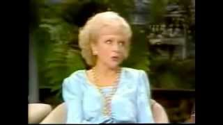 "Betty White on ""The Tonight Show Starring Johnny Carson"" (1987)"