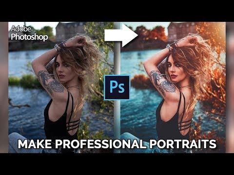 How To Make Professional Portraits | Photoshop Tutorial