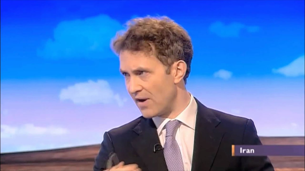 Douglas Murray discusses Iran and Israel on the BBC Daily ...