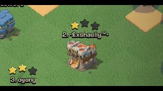 Clash Of Clans | When You Think A Base Is Easy When Its Not.....