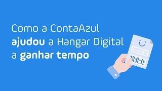 Como a ContaAzul ajudou a Hangar Digital a ganhar tempo