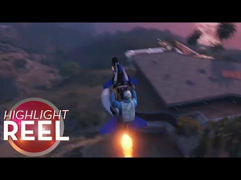 Highlight Reel #323 - Rad GTA Trick Backfires