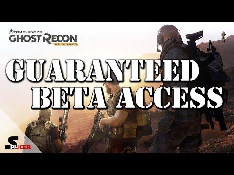 Guaranteed Access to Closed Beta - Tom Clancy Ghost Recon Wildlands