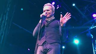 David lee roth performs dance the night away from house of blues in las vegas on 1/8/2020, first his residency