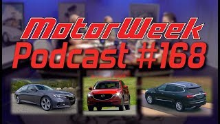 MotorWeek Podcast 168: Honda Accord, Buick Enclave, Mazda CX-5, and more!