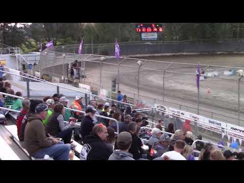 Deming Speedway WA - Jr. Sprints B Main (Davis Jacobson) - August 24, 2018