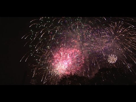 Greenfield MA Fireworks July 5, 2015