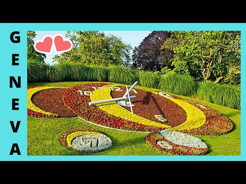 Geneva the beautiful jardin anglais english gargen for Jardin anglais geneve programme