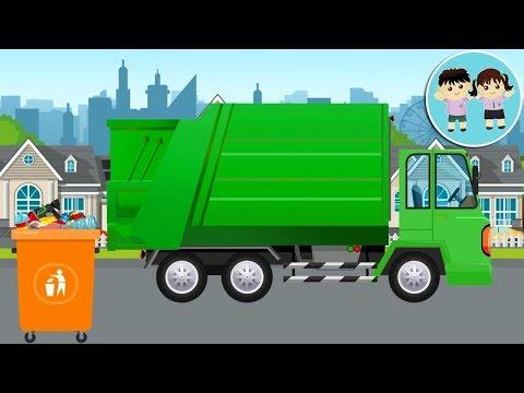 Camionul De Gunoi - Poezii Pentru Copii - Copilasi Dragalasi