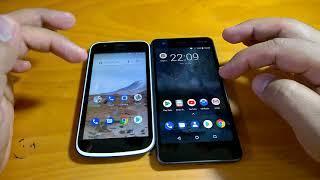 Nokia 1 vs Nokia 2 (Android Oreo Beta) performance comparison