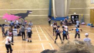 Brighton Rockers Vs Central City Roller Girls
