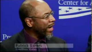 Patrick Barnes Limitless Vistas Speaks at Beyond Recovery Panel Discussion