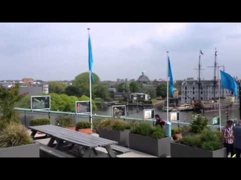NEMO Science Centre Roof Garden - Amsterdam