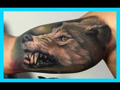 Mejores Tatuajes De Lobos Para Hombres Y Mujeres Youtube