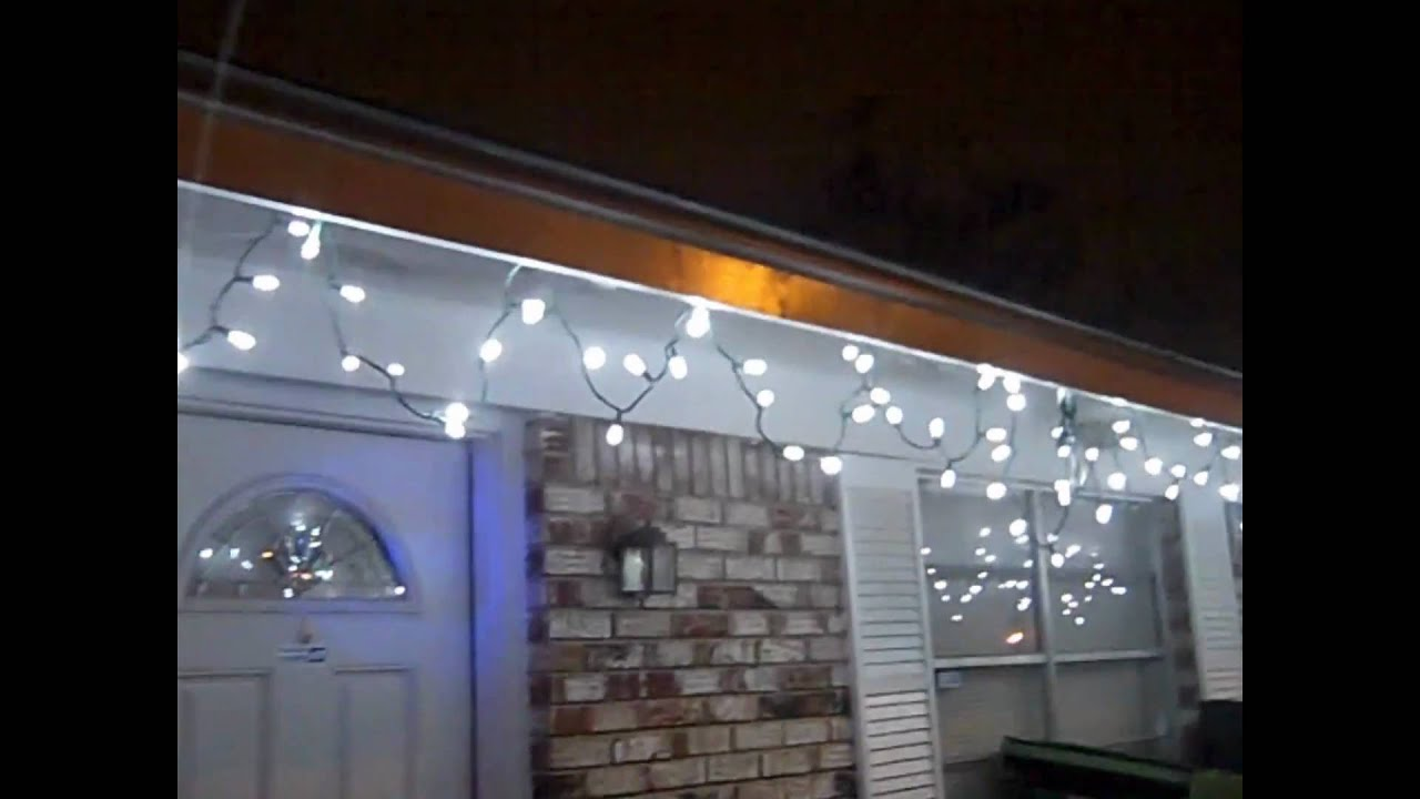 Solar Powered Christmas Lights LED
