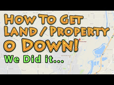 Buy Land  Property For 0 Down