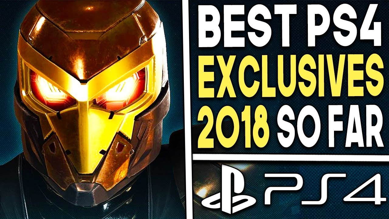 Top 10 Best Ps4 Exclusives Of 2018 So Far Playstation 4