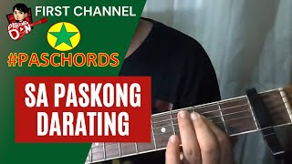 Baixar Sa Paskong Darating - Chords Guitar Tutorial