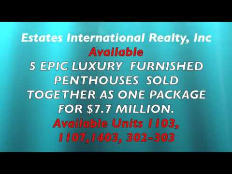 The Epic Luxury Furnished  Penthouses by Patrice Delancy, Broker/CEO