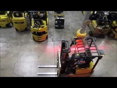 Hy Tek Safety Zone for Forklifts