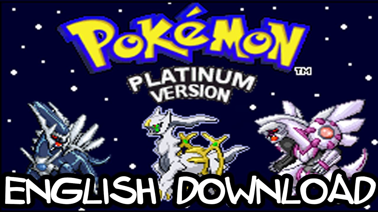 Pokemon Light Platinum 100 English Completed Version Free Download Youtube