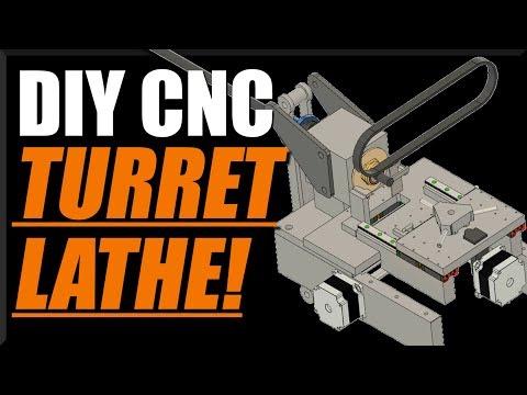 DIY CNC Turret Lathe - Part 1! WW202