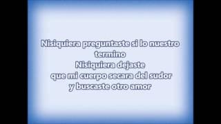 Ni siquiera - Antonio Cartagena (letra)