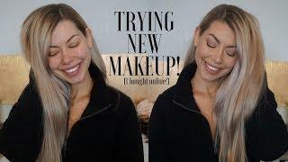 Trying New Makeup I Bought Online | Ulta, Sephora & Hautelook