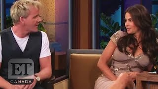 Gordon Ramsay's Awkward Interview With Sofia Vergara