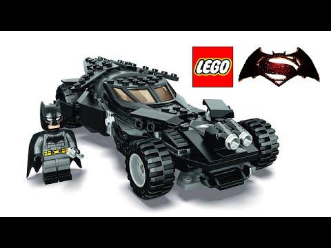 LEGO Batman v Superman 2016 Batmobile set revealed! - YouTube
