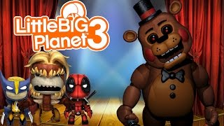 little big planet 3 ps4 multiplayer gameplay five nights at freddy s 2 edition