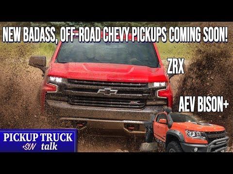 Big, Muddy News! 2022 Chevy Silverado ZRX, AEV Bison+ Package Coming